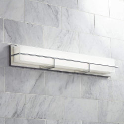 [جلو-1833] حديثة [هردويرد] [لد] كروم جدار ضوء مع أبيض زجاجيّة ناشر لأنّ غرفة حمّام تفاهة