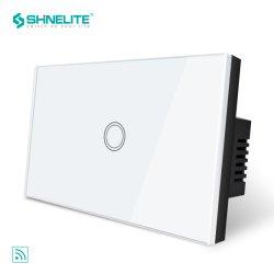 Alexa OEM Control por voz Smart interruptor táctil WiFi