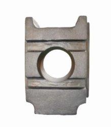 掘削機の予備品のためのカスタマイズされたDINの鋼鉄滑走ブロックの下部構造の鋳造の部品