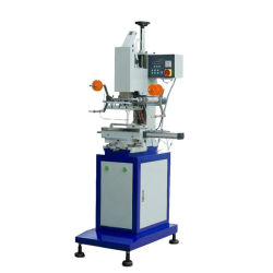 Chesp Face Redonda Pneumática hot stamping Máquina para papel, madeira, plástico