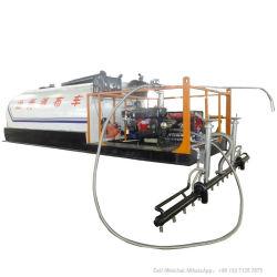 噴霧装置(トラックによって取付けられるボディのための2000L、4000L、5000L瀝青が付いているトラックのためのアスファルトディストリビュータータンクSKDタンクアスファルトスプレーヤー)の