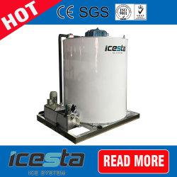 1000kg 2 macchina industriale del creatore di ghiaccio del fiocco della piccola neve dell'acqua dolce di Tonbeautiful di tonnellata 5 per la zona di pesca