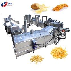 Samosa Freidora de pollos congelados de equipos de maquinaria para freír papas fritas de plátano plátano Quebradizo máquina
