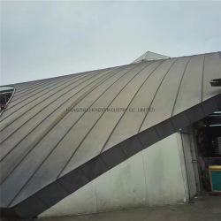 Усовершенствованная здание используется титан цинк постоянного шов металлические панели крыши