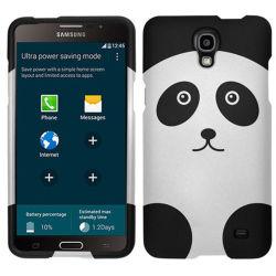 Cas de conception Zizo caoutchouté pour Galaxy Mega 2 - Panda Bear
