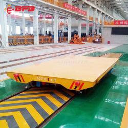 1-500 toneladas de bobinas de acero Industrial motorizado de manipulación de material ferroviario eléctrico Carro de transporte plana fabricantes