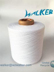 Gerecycleerde die Textiel van de Vezel van het Afval wordt gemaakt