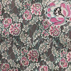 Peça de vestuário de têxteis de algodão de tecido de malha Lace Bordados Africana Lace (M3505-G)