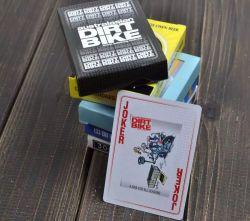 Impression couleur de la publicité personnalisée Playingcards, Poker
