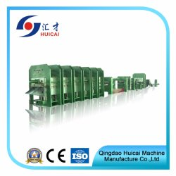 Het Vulcaniseren van de Transportband de RubberMachines van de Machine