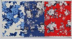 Nouveau design floral Tissu de fils teints cravate