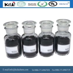 Pigmento negro de carbono negro N220 N330 N550 N660