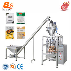 Productos químicos industriales automática en polvo de plástico de máquinas de embalaje