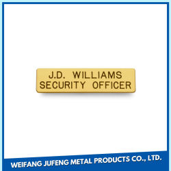 Personalizzato timbrando la targhetta decorativa accessoria dell'acciaio inossidabile per il portello