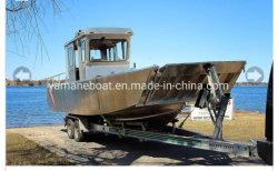 9m алюминиевый посадки судов на заводе на лодке питания