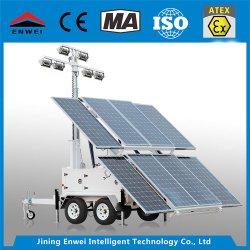 La iluminación solar Portable Mot-400-Remolque montado Torre de Luz