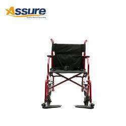 貿易保証の軽量の鋼鉄によってモーターを備えられるFoldable電動車椅子