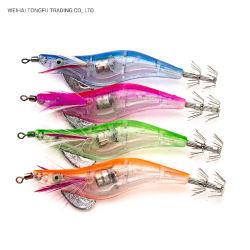 La lumière de la pêche leurre lumineux à LED de crevettes Crevettes Lure Squid Jig appât