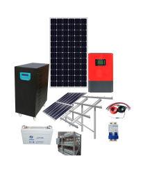 10kw van het Systeem van de ZonneMacht van het Huis van het Net met de Kabel van de Omschakelaar van het Controlemechanisme van het Zonnepaneel