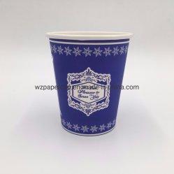 Tazza di caffè a parete semplice a gettare rivestita 8oz del PE di prezzi di fabbrica