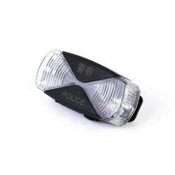 Senken soulignant Anti-Drop étanche Double torche lumière couleur de contrôle du trafic rechargeable d'avertissement lampe à LED de lumière de l'épaule