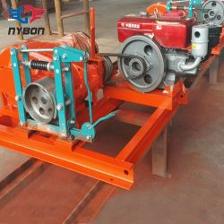 Équipement de levage moteur diesel treuil corde 30tonne