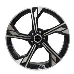 Jante 17 18 19 pouces de pièces automobiles jantes de roues en alliage de répliques de voiture pour Audi