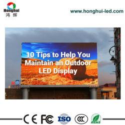 Advertizing Signのための屋外のFull Color High Brghtness SMD3535 P6 P8 P10 LED Display Billboard