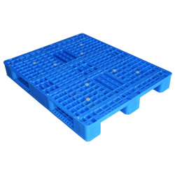 1200x1000 Heavy Duty China Single Face Standard Hdpe Euro Plastic Pallet Voor Rekmontage