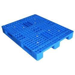 1200X1000 em rack de Face Única de Serviço Pesado de HDPE Euro palete de plástico