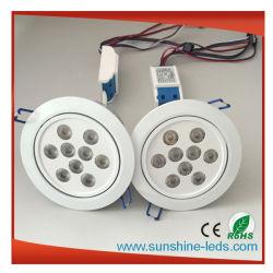 27W RGBW AluminiumDimmable LED Downlight