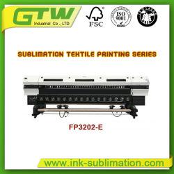 Oric sublimation directe 3,2 m de l'imprimante avec double tête de l'imprimante DX-5
