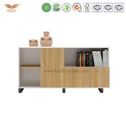 Decente melamina moderno mobiliario de oficina libro caso H90-0605)