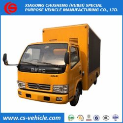 Mini LED LED du feu arrière du chariot de la publicité chariot P4 P6 P8 écran LED de la publicité pour camion roadshow