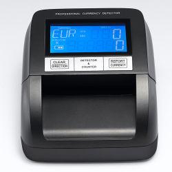 기계 가짜 돈 검출기를 세는 UV 빛 통화 은행권을 세는 4개의 오리엔테이션 소형 현금 유럽 USD에 있는 미국 달러