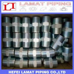 Saldatura dello zoccolo/accessorio per tubi ad alta pressione d'acciaio forgiato del filetto/capezzolo Hex