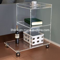 Table latérale de luxe avec fonction de stockage