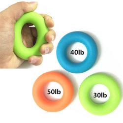 Treinamento de força muscular do lado do dedo de borracha Exerciser Garra