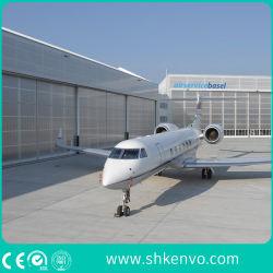 飛行機の航空空港のための産業自動モーターを備えられた折る電気滑走の航空機の格納庫のドア