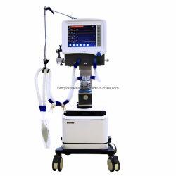 Het Medische Draagbare Ventilator ICU van het ziekenhuis met/zonder de Compressor van de Lucht voor Volwassen/Pediatrisch/Zuigeling