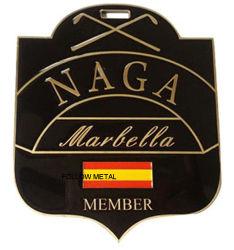 Naga Badge esmalte macio com Ouro de epóxi