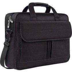 Sacoche pour ordinateur portable 15,6 pouces résistant à l'eau, d'affaires Mallette Messenger Sac en bandoulière