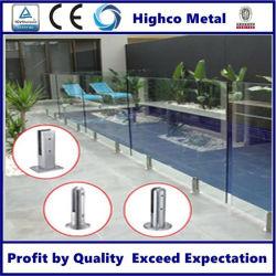 熱い販売のステンレス鋼の塀のプールデザインガラスの栓