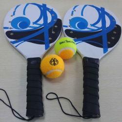장난감 게임 합판 바닷가 테니스 라켓 공