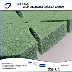 Rilievo ammortizzante della gomma piuma del PE di uso del campo sportivo per l'erba artificiale del tappeto erboso