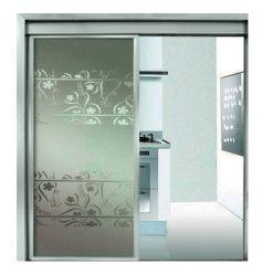 Pequeñas puertas deslizantes automáticas residenciales de cristal de Frameless