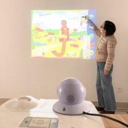 Scheda bianca interattiva portatile per l'insegnamento e la presentazione dell'ufficio