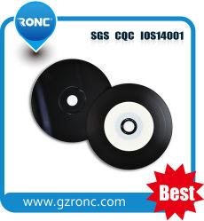 Запись музыки используется черный CD DVD Blu-ray