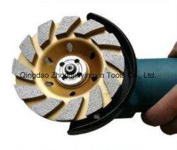 80mm 100mm 110mm de Kop van het Wiel van de Diamant voor het Marmeren Concrete Malen