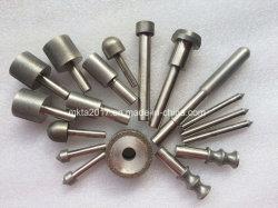 6mm herramientas diamantadas Muelas CBN simulacros de cabezales de molienda